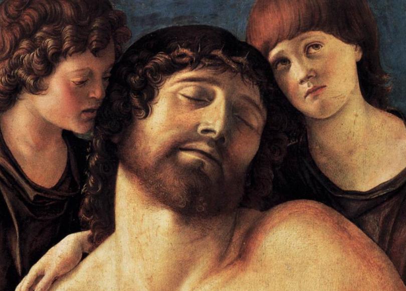 Crédito: Cristo e anjos de BELLINI, Giovanni